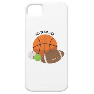 Go Team Go iPhone SE/5/5s Case