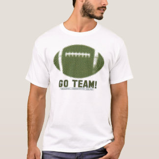 Go Team Green and Yellow T-Shirt