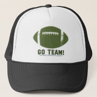 Go Team Green and Yellow Trucker Hat
