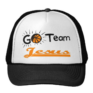 Go Team Jesus Christian Trucker Hat