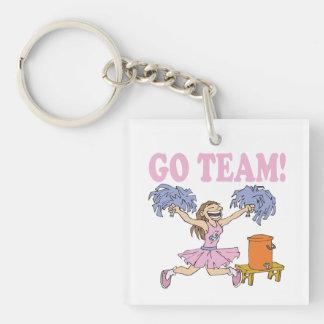 Go Team Acrylic Key Chains