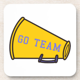 Go Team Megaphone Coaster