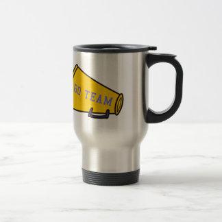 Go Team Megaphone Travel Mug