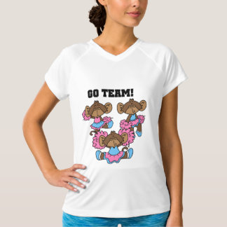 Go Team Pink and Blue Tshirts and Gifts