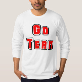 Go Team Red and Blue Tee Shirt