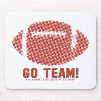 Go Team Red and Yellow Mouse Pad