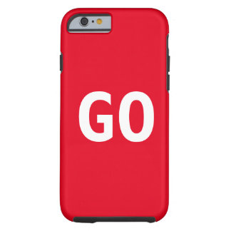 GO team red gamer phone case