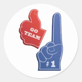 Go Team Stickers