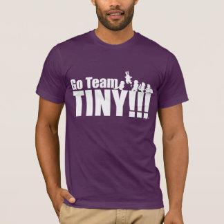 Go Team Tiny on Eggplant T-Shirt