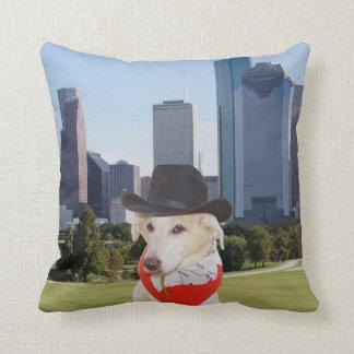 Go Texan Myrtie Houston Pillow