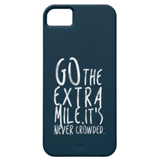 Go The Extra Mile iPhone 5 Covers