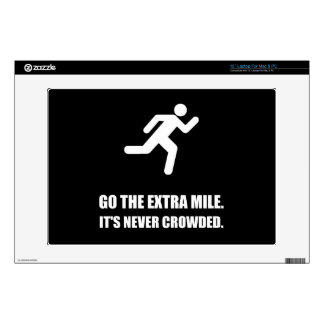 """Go The Extra Mile Decal For 13"""" Laptop"""