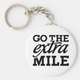 Go the extra Mile Keychain