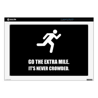Go The Extra Mile Laptop Decal