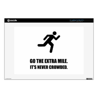 Go The Extra Mile Laptop Skins