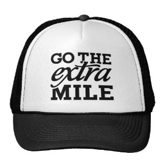 Go the extra Mile Trucker Hat