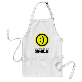 Go The Extra Smile Adult Apron