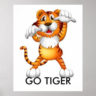 GO TIGER Poster