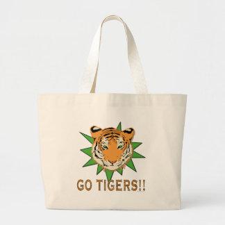 Go Tigers Jumbo Tote Bag