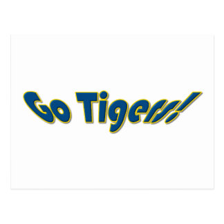 Go TIgers Postcard