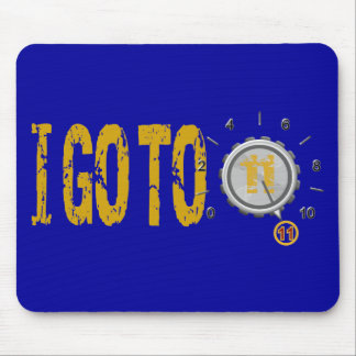 Go To Eleven 11 Text Design Mouse Pad