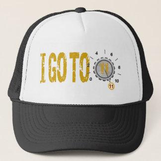 Go To Eleven 11 Text Design Trucker Hat
