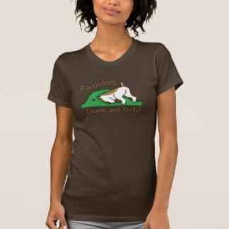Go To Ground Earthdog Dark T Shirt