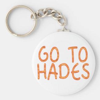 Go To Hades Key Chain