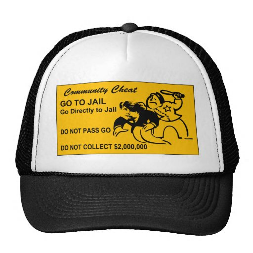 GO TO JAIL BLAGO MESH HATS