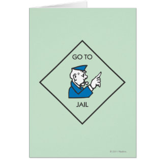 Go to Jail - Corner Square Card