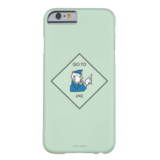 Go to Jail - Corner Square Barely There iPhone 6 Case