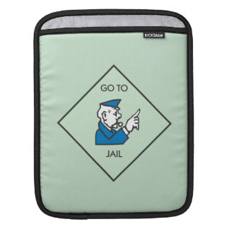 Go to Jail - Corner Square iPad Sleeve