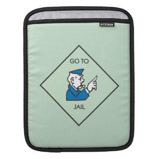 Go to Jail - Corner Square iPad Sleeve