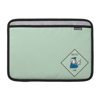 Go to Jail - Corner Square Sleeve For MacBook Air