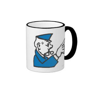 Go to Jail Ringer Mug