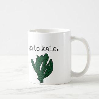 go to kale. coffee mug