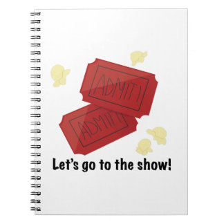 Go to show spiral notebooks