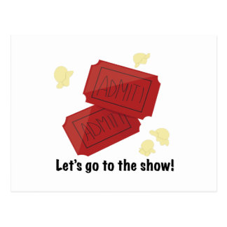 Go to show post cards