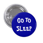 Go to sleep 1 inch round button