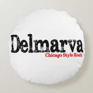 Go to sleep with Chicago Style rock on your head! Round Pillow