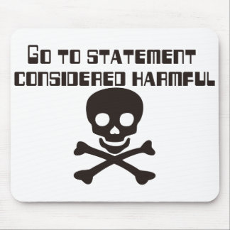 GO_TO_STATEMENT MOUSE PAD
