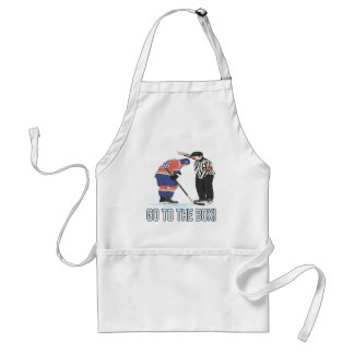 Go To The Box Adult Apron
