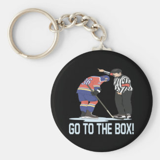 Go To The Box Keychain