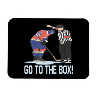 Go To The Box Magnet
