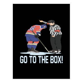Go To The Box Postcard