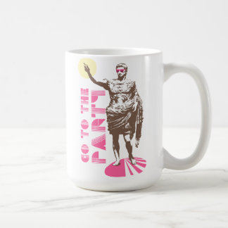 Go to the party coffee mug