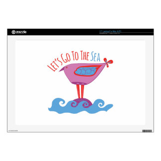 Go to the Sea Skin For Laptop