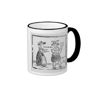 Go to the Wars, illustration from a pamphlet showi Ringer Coffee Mug