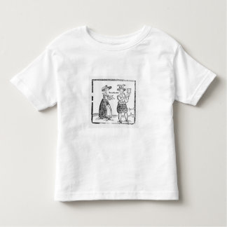 Go to the Wars, illustration from a pamphlet showi T-shirts