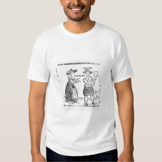 Go to the Wars, illustration from a pamphlet showi Tshirts